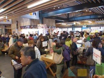 道南いさりび鉄道の木古内駅でもイベント開催中!