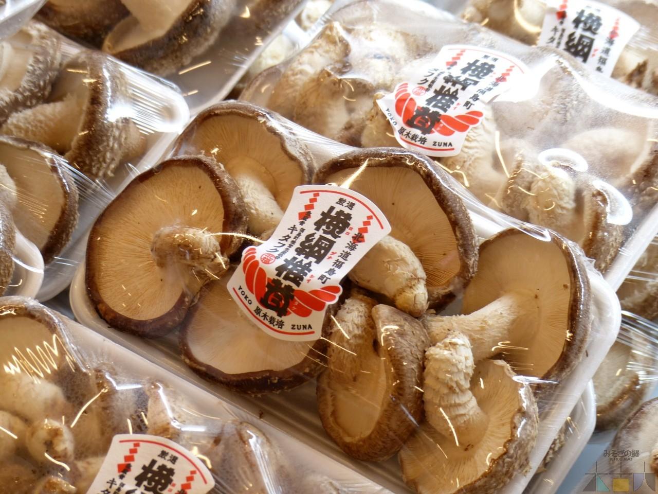 福島町の特産品『横綱椎茸』 お取り扱いスタート!