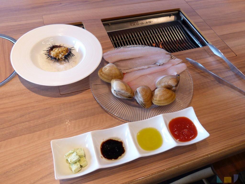 『魚の日』で購入した檜山地方と木古内の海産物を、どうなんde'sへ持ち込み『とれた de イタリアン』!