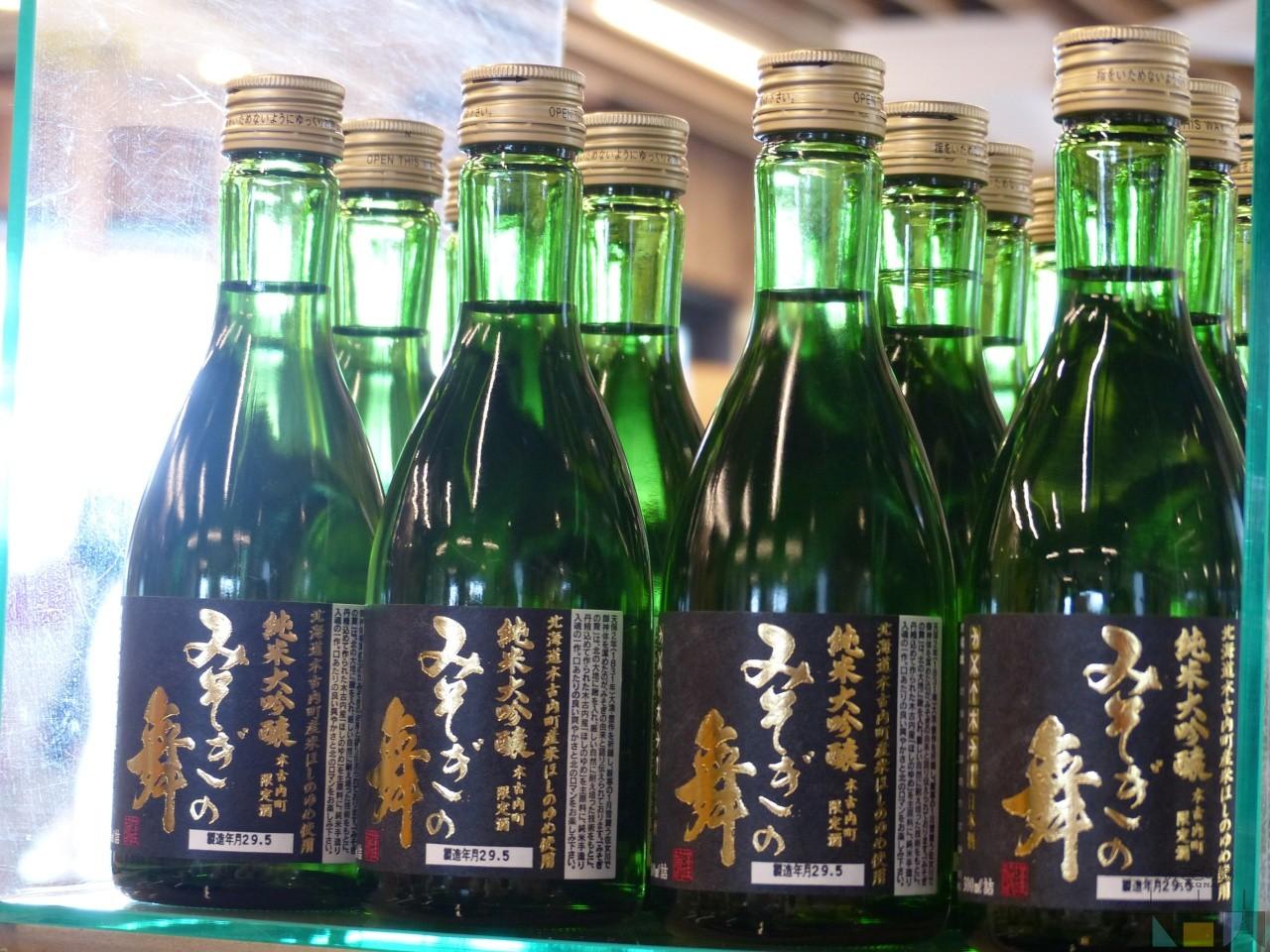 町内限定販売「みそぎの舞」黒ラベルの純米大吟醸が入荷!