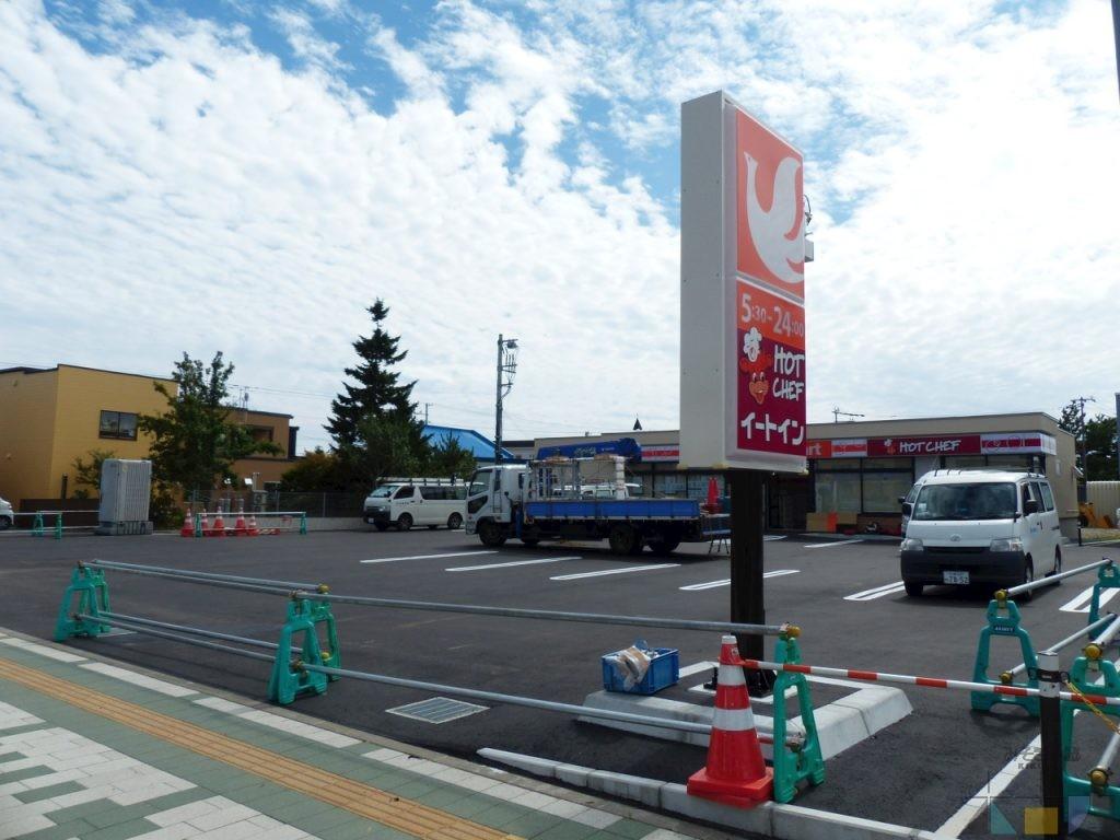 木古内駅前のセコマが完成間近♪ 9月上旬オープン予定!!