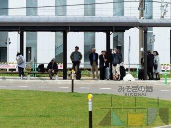 今年も江差追分の季節が♪ 木古内駅前からバスで行けますよ。