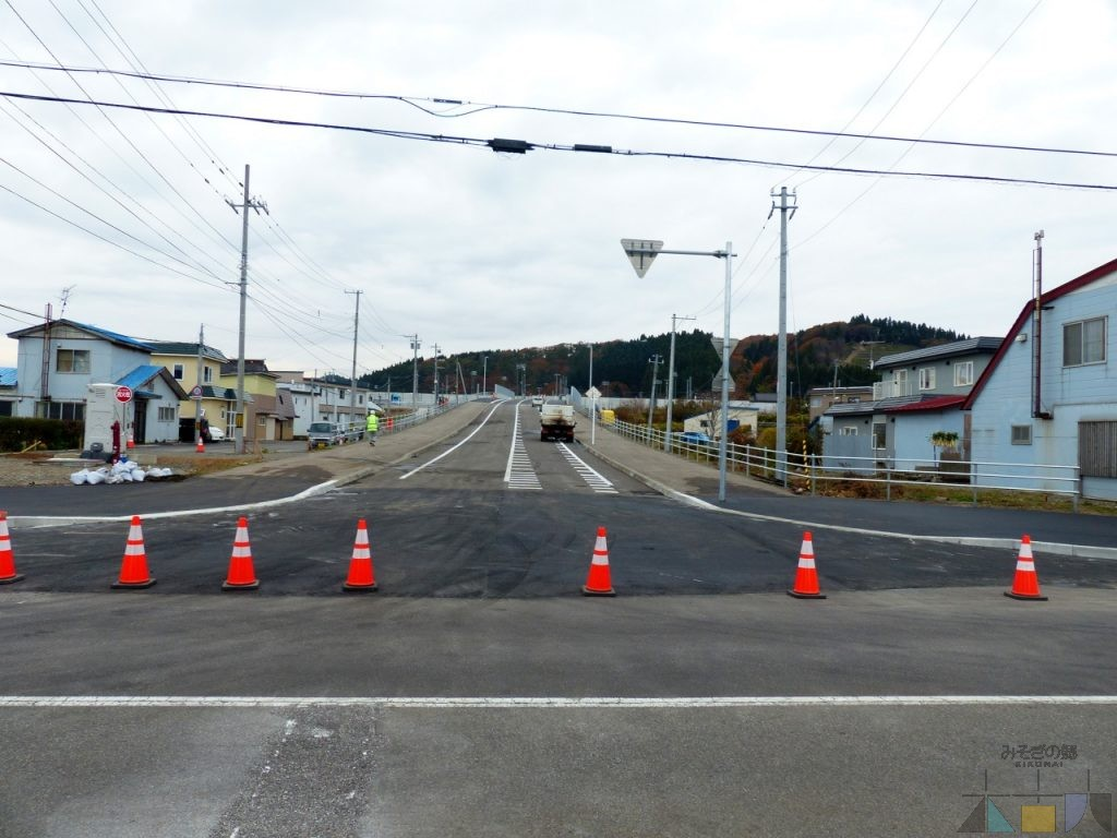 木古内駅北口(新幹線駅口)への道路がいよいよ10月30日開通!
