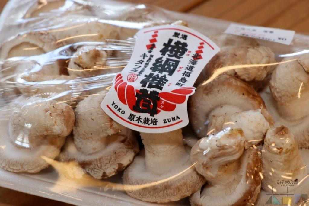福島町産「横綱椎茸」の試食販売 実施中!
