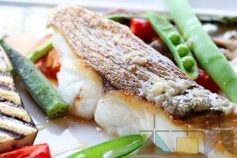 どうなんde'sで木古内産鮮魚のポワレ (๑´ڡ`๑)