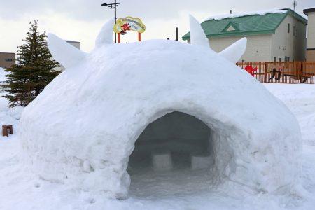 【雪が多い木古内】かまくらでお汁粉!ミニ滑り台もあるよ【※終了しました】